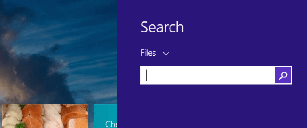 Windows Search Box