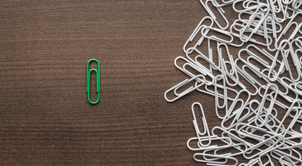 Evernote Green Paper Clip