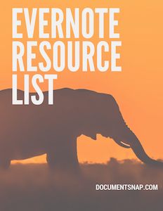 Evernote Resource List
