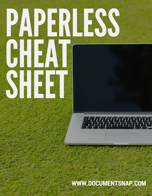 Paperless Cheat Sheet